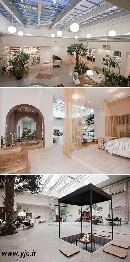 عجیب ترین آپارتمان های دنیا +عکس 1152784_552