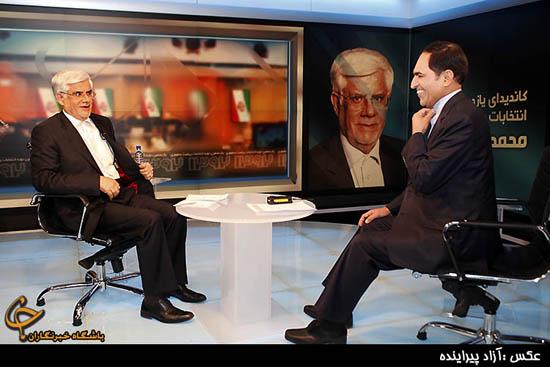 محمدرضا عارف کاندیدای یازدهمین دوره انتخابات ریاست جمهوری در برنامه گفتگوی ویژه خبری