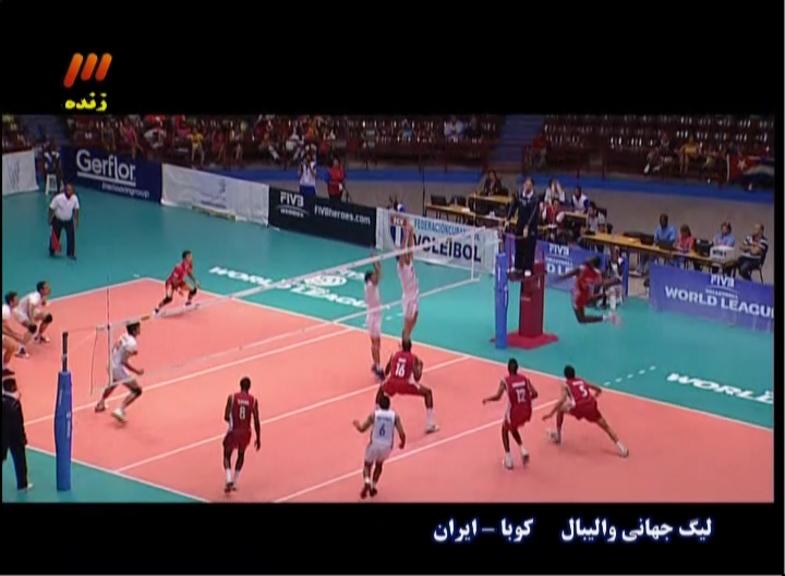 1290978 718 - تصاویر:والیبال ایران کوبا را در هم کوبید؛پیروزی با طعم شکر!
