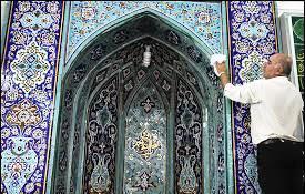 مساجد منطقه ۷ به استقبال ماه مبارک رمضان می روند