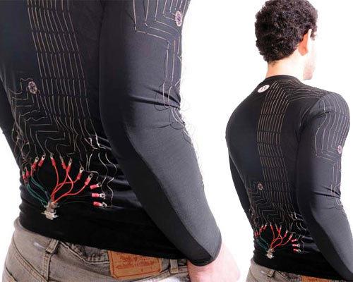 لباسهای هوشمند .دجیتالی کنترل سلامتی smart cloths in healthy