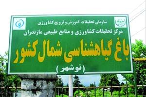 پرونده «باغ گیاهشناسی نوشهر» متوقف شد/ ادامه کار منوط به تصمیم دولت یازدهم