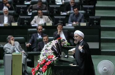 احتمال برگزاری جلسه رای اعتماد کابینه دکتر روحانی در جلسه یکشنبه آینده مجلس