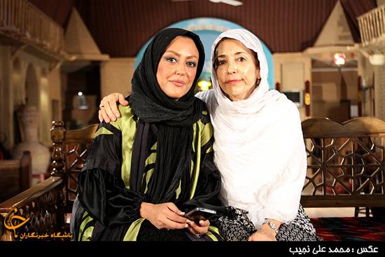 شقایق فراهانی و مادرش + عکس