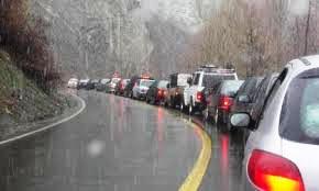 ترافیک نیمه سنگین در جاده های کشور