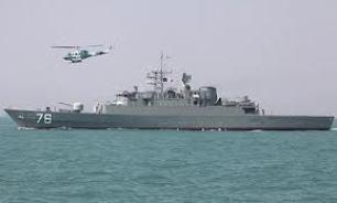 ناوگروه ۲۷ نیروی دریایی ارتش عازم آبهای آزاد شد