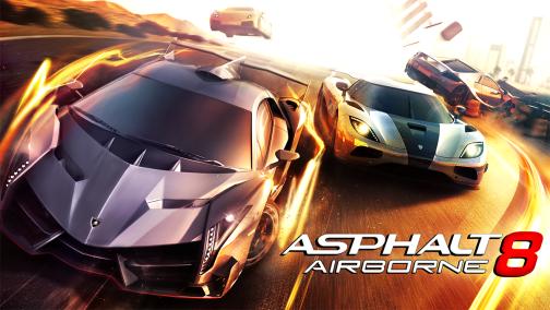 دانلود بازی آسفالت 8 Airborne