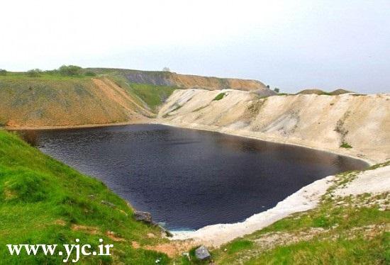 سمی ترین دریاچه دنیا +عکس