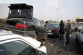 تصادف زنجیره ای مرگبار در استان گیلان