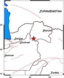 زلزله ۴ ریشتری خراسان شمالی را لرزاند+ جزئیات