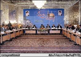 احمدينژاد آخرین جلسه دولت خود را در جوار بارگاه مطهر رضوی(ع) برگزار میكند