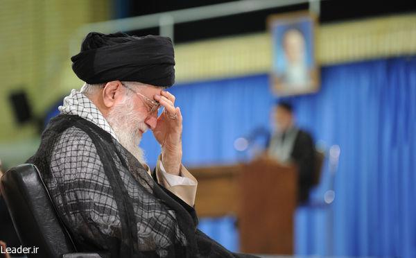 مراسم سوگواری شهادت امام علی علیهالسلام در حضور رهبر معظم انقلاب
