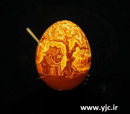 نقاشی های باورنکردنی روی پوست تخم مرغ +تصاویر 1526736_215