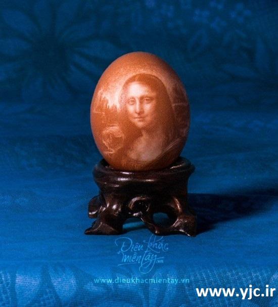 نقاشی های باورنکردنی روی پوست تخم مرغ +تصاویر 1526740_173