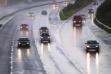 ترافیک روان در تمام محورهای مواصلاتی کشور / مازندران بارانی