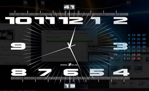 ساعت اسکرین سیور
