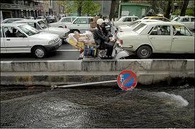 شبکه آب های سطحی ورودی غربی تهران از مرز ۵۰ درصد گذشت