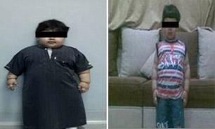 چاق ترین کودک دنیا لاغر شد+عکس