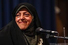 شوخی معصومه ابتکار با دکتر روحانی در جلسه دولت