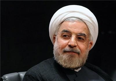 پیام تسلیت دکتر روحانی به مناسبت درگذشت همسر آیت الله حائری شیرازی