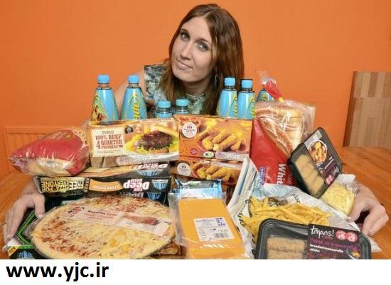 زنی که هیچوقت میوه نخورده است +عکس