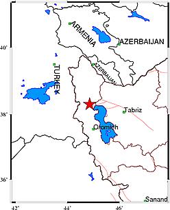 زلزله آذربایجان غربی را لرزاند+ جزئیات
