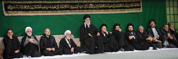 دومین شب مراسم عزاداری اباعبدالله الحسین(ع) در حسینیه امام خمینی برگزار شد