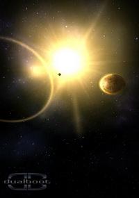 سفر به منظومه شمسی + دانلود تصویر زمینه