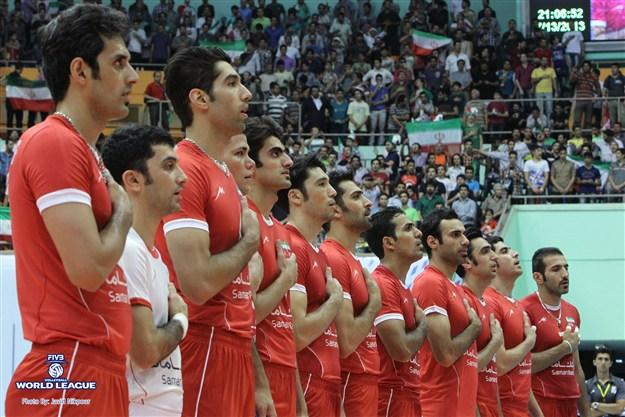 نتیجه بازی والیبال ایران برزیل پنجشنبه 27 خرداد 95