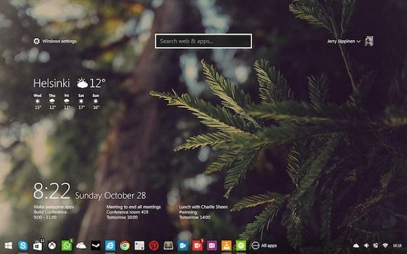 آیا ویندوز 9 به این شکل خواهد بود + تصویر