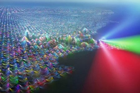 تصاویر شگفت انگیر از امواج تلفن همراه