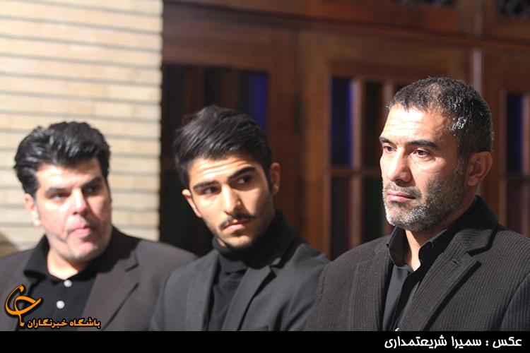 چهره ها در  مراسم ختم پدر عابدزاده + تصاویر