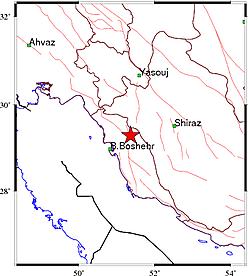 زلزله ۵٫۷ ریشتری بوشهر را لرزاند+جزئیات