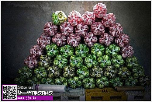 کارگاه ساخت توپ پلاستیکی راه راه+تصاویر
