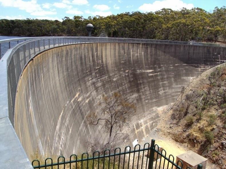 شاهکار مهندسی سد در استرالیا + تصاویر