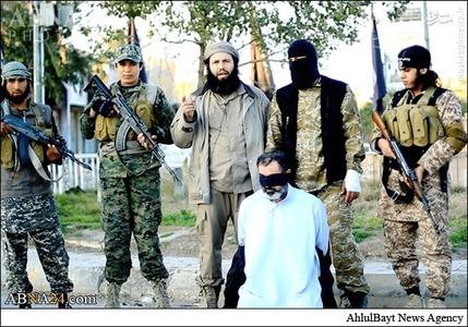 داعش یک مقام وزارت کشور عراق را ذبح کرد + تصاویر(۱۸+)