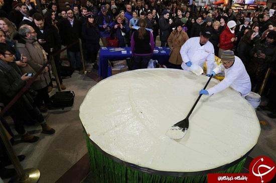 بزرگترین کیک لیمویی دنیا +عکس
