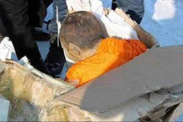 کشف مومیایی «زنده» در مغولستان! + عکس
