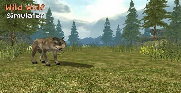 دانلود کنید: بازی شبیه ساز سه بعدی زندگی گرگ هاWild wolf simulator 3D