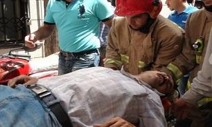 سقوط بالابر ساختمانی جان 8 کارگر را گرفت