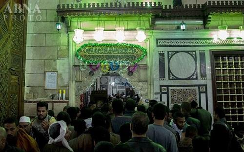 مراسم گرامیداشت سالگرد ورود سر مبارک امام حسین(ع) به مصر + تصاویر