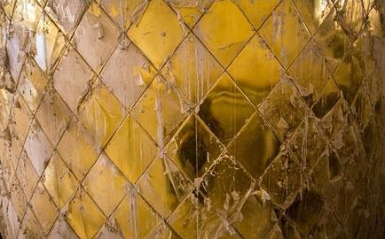 تذهیب ایوان طلای حرم حضرت عباس (ع) به پایان رسید + تصاویر
