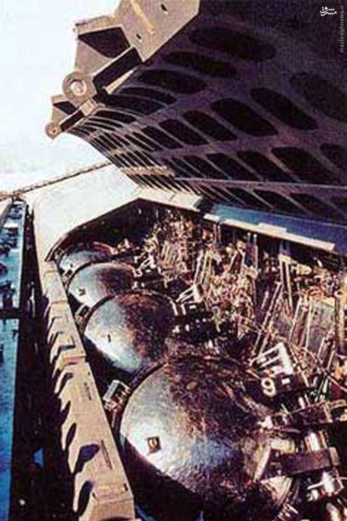 موشک زیر آبی سپاه اینگونه زیر آب اقتدار دریایی آمریکا را زد +عکس