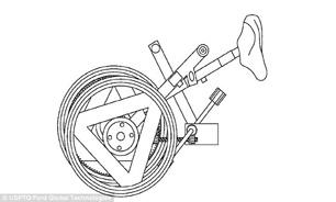 3019251 419 خودروی سواری را به دوچرخه تبدیل کنید + تصاویر