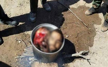 داعش مادری را مجبور به خوردن گوشت پسرش کرد!
