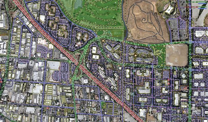 نرم افزار مسیریاب با نقشه های سه بعدی  +دانلود / در حال کار
