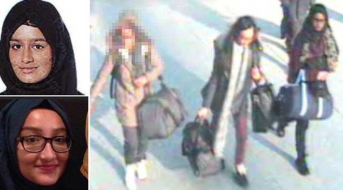 پیوستن 3 دختر نوجوان انگلیسی به داعش