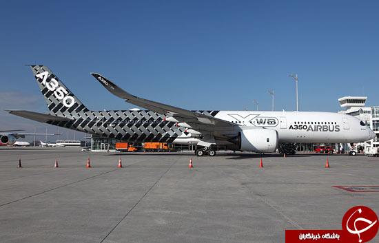 مدرنترین هواپیمای مسافربری جهان + تصاویر / در حال کار