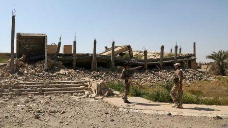 تخریب کامل محل دفن دیکتاتور سابق عراق