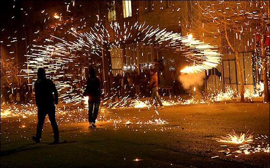 نتیجه تصویری برای چهارشنبه سوری